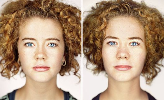 Identical twins by Martin Schoeller