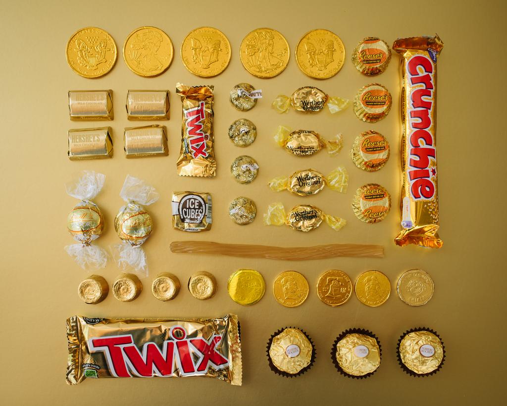 Sugar Series, Categorised Sweets per Colour
