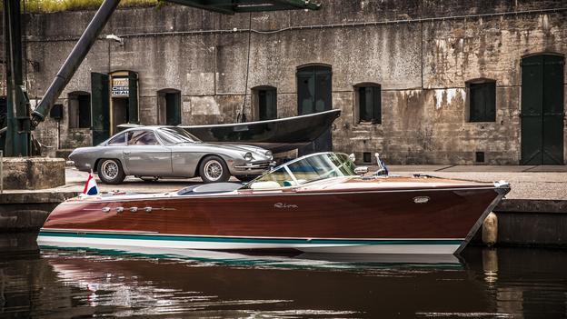 From Riva, a Lamborghini-powered pleasure craft