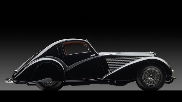 1936 Delahaye Type 135 Competition Court Teardrop Coupé