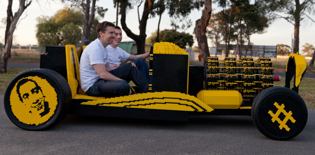 500,000 LEGO Pieces Made a Car That Can be Driven