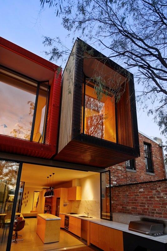 Japanese Maple Tree House, Fitzroy, Melbourne, Australia
