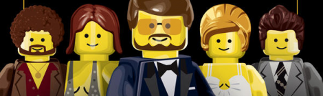 86th Academy Award Nominees Recreated as Lego Movie Posters