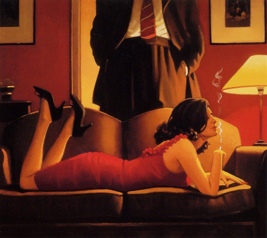 Jack Vettriano Painting 94
