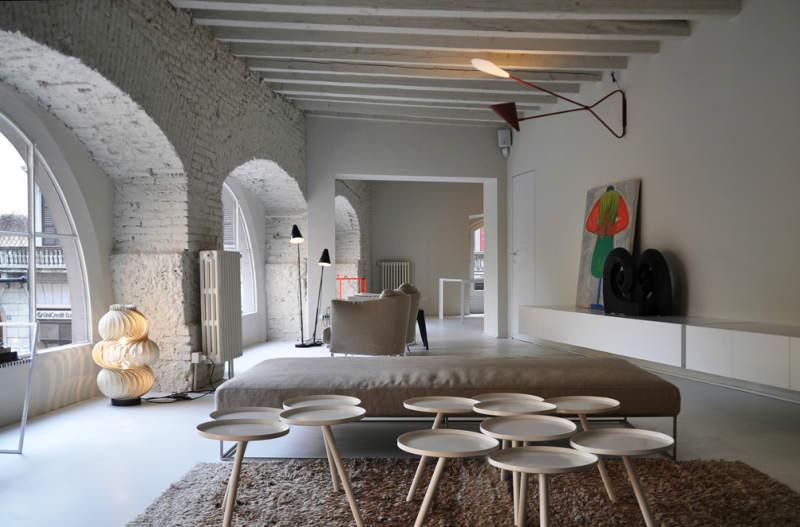 Contemporary Apartment, Milan, Italy