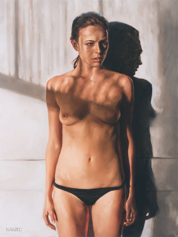 aaron nagel painting