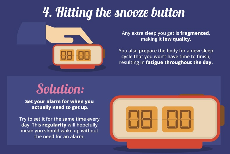 7 sleep mistakes everythingwithatwist