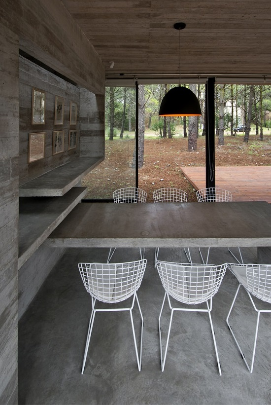 Buenos Aires Forest House By Luciano Kruk