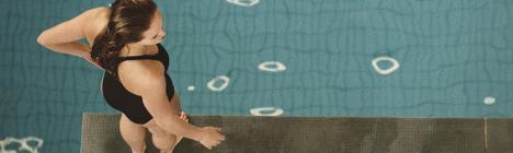 Pool Divers by Mark Sanders
