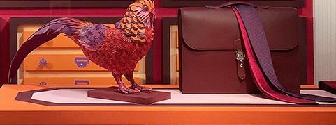 Hermès Bird Sculptures by Zim & Zou
