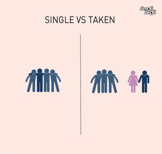 single vs taken everythingwithatwist