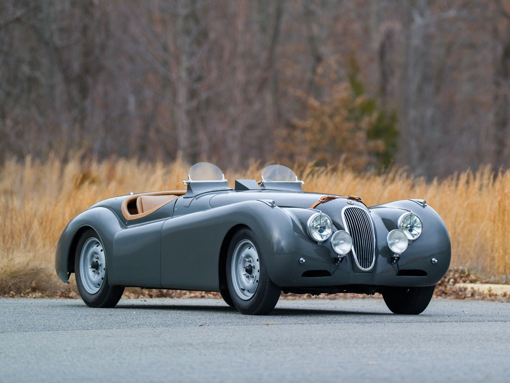1949 Jaguar XK120 αlloy ρoadster everythingwithatwist