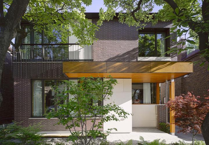 Energy Efficient House Bedford Park Toronto Canada