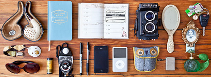 Portraits of People and Their Essential Everyday Items by Jason Travis