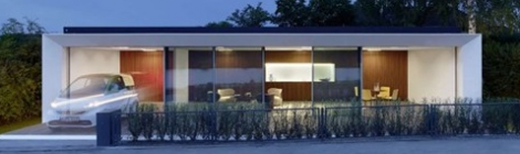 Energy Sufficient B10 House in Weissenhof Estate, Stuttgart, Germany