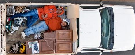 Carpoolers in Mexico by Alejandro Cartagena