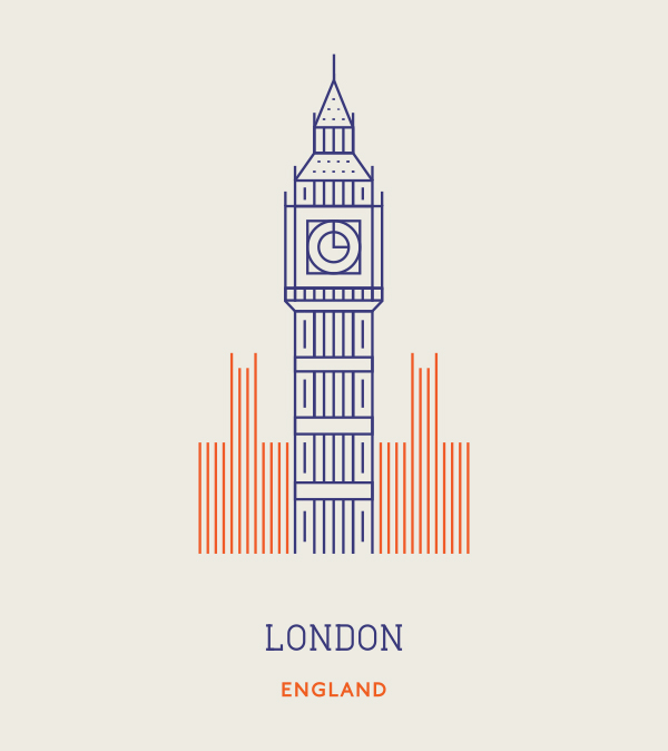 line icons london-england-everythingwithatwist
