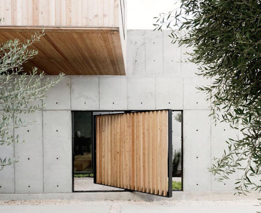 Concrete box dream house robertson design houston texas for Concrete house texas