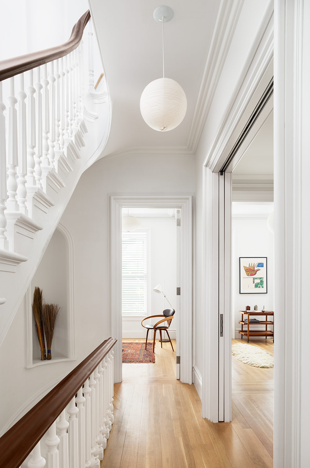 19th century brownstone house in brooklyn  new york