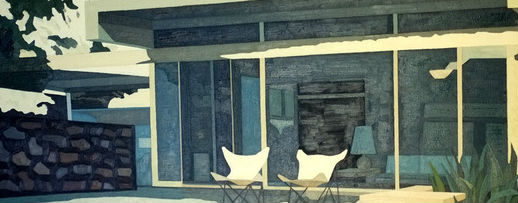 Andy Burgess Architectural Paintings