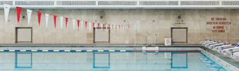 Architectural Restoration of a 1938 Swimming Pool, Berlin, Germany