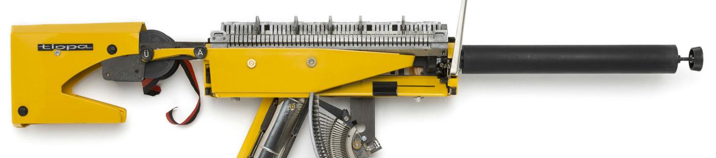 Typewriter Guns by Éric Nado