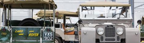 Jaguar Land Rover's Works Facility Opens