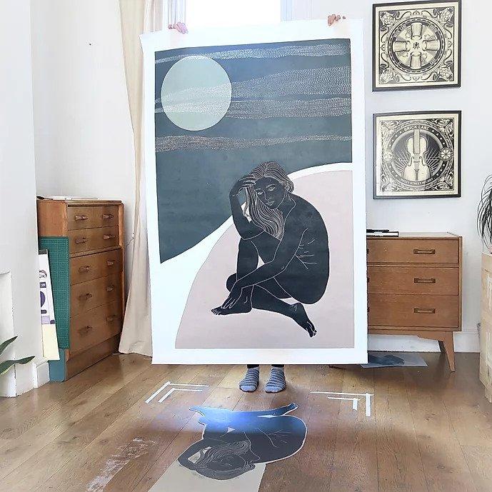 ellen von wiegand printmaking
