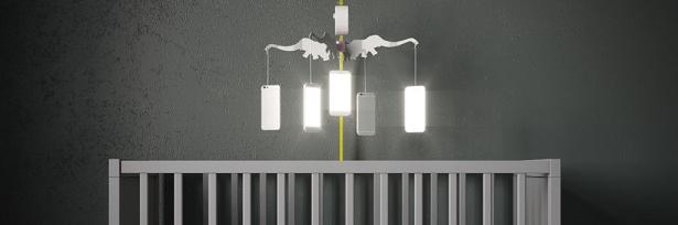 Baby Cribs by Anna Radchenko