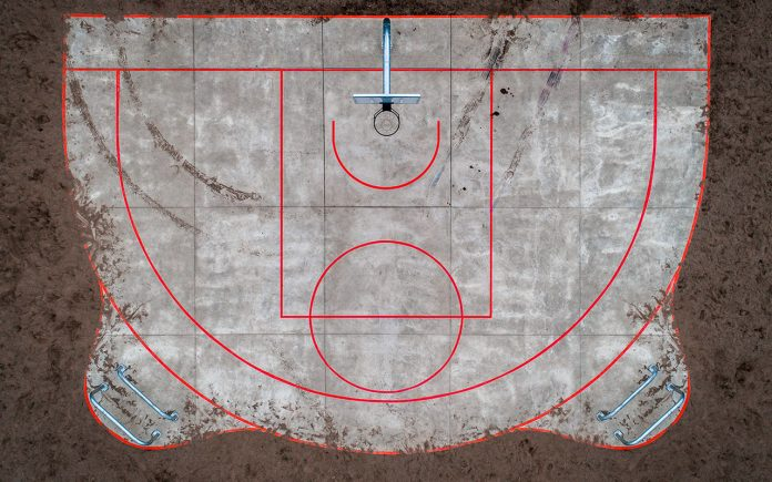 basketball court photography petra leary
