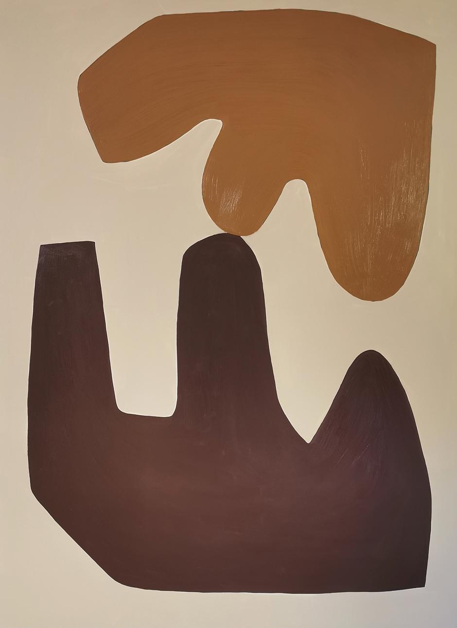 conceptual paintings virginie hucher