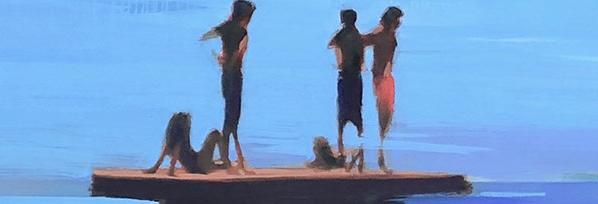 Myth of Summer, Paintings by Elizabeth Lennie