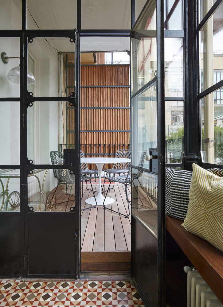 hv house eixample built architecture