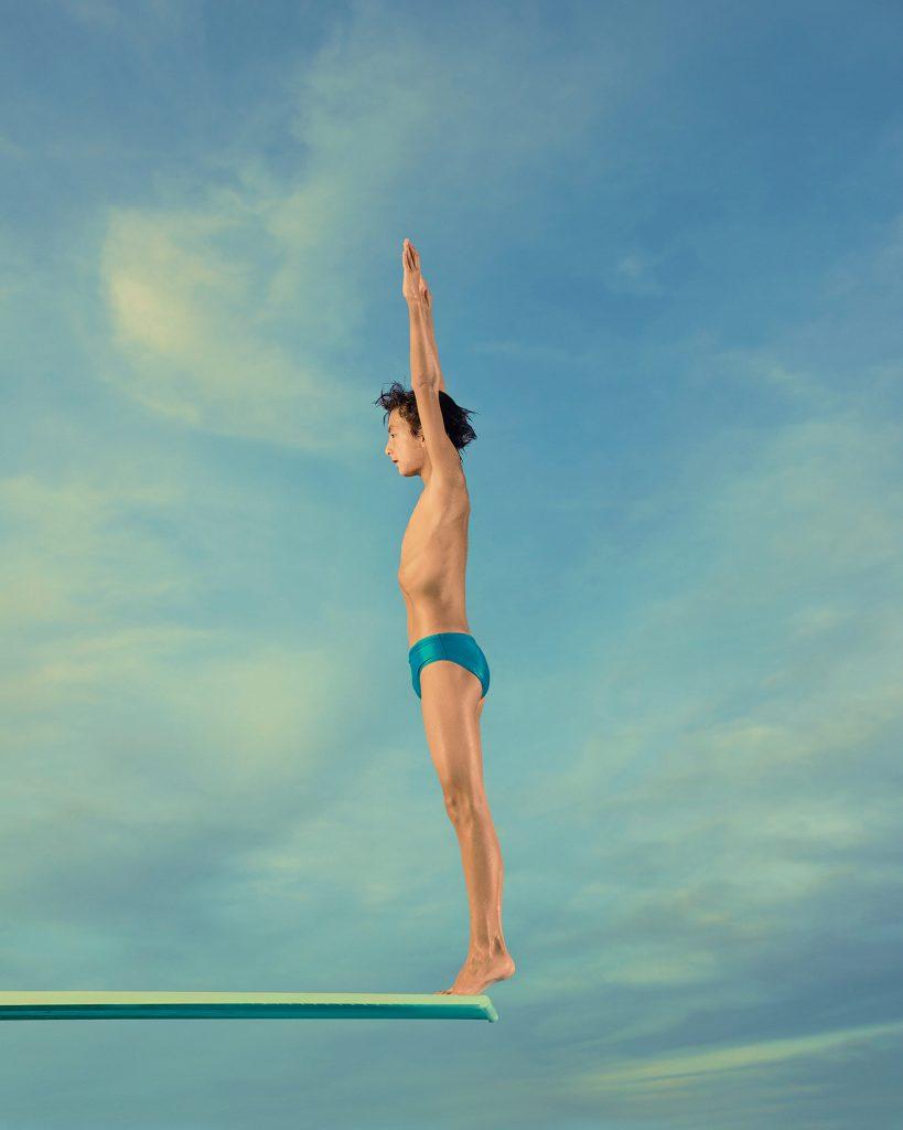 springboard diver photographs