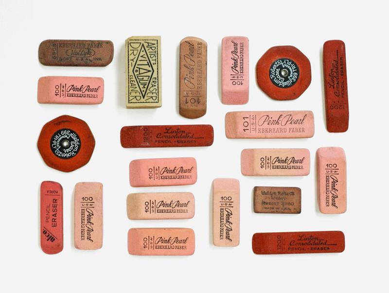 vintage erasers lisa congdon